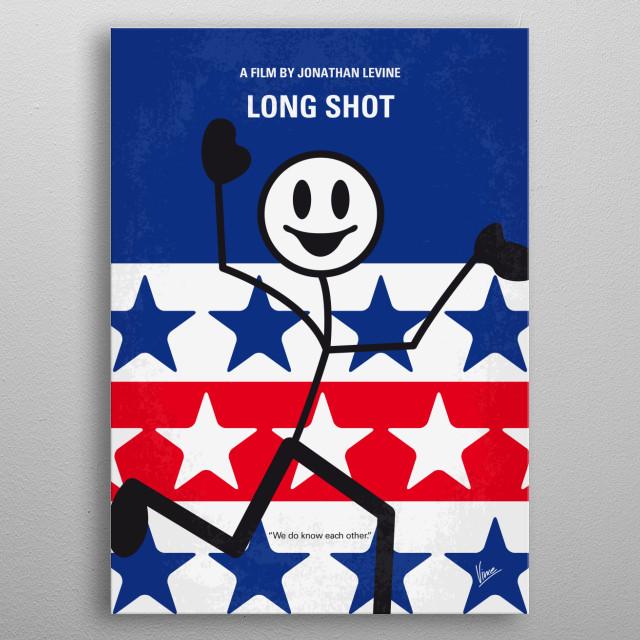 Long Shot Charlize Theron Rogen Fred Flarsky President childhood crush rogen babysitter humor diplomat metal poster