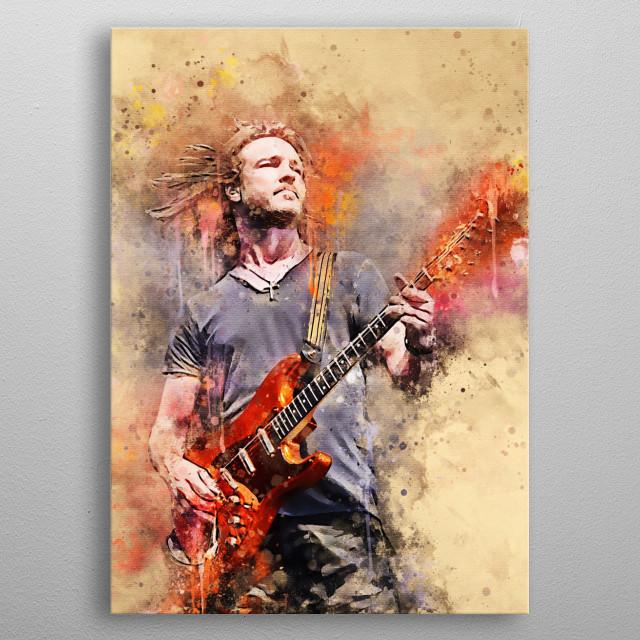 Kenny Wayne Shepherd is an American guitarist, singer and songwriter.  He has released several studio albums and experienced  metal poster