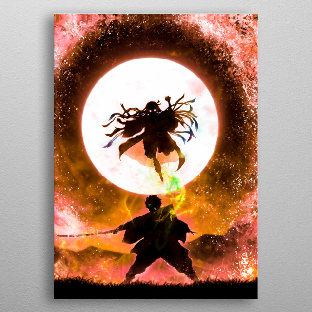 This marvelous metal poster designed by Jaime_arts to add authenticity to your place. Display your passion to the whole world. metal poster