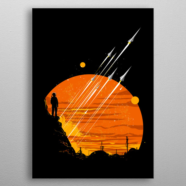 interstellar metal poster