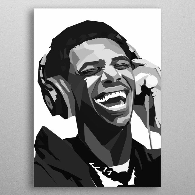 Julius Dubose known professionally as A Boogie, is an American rapper, singer, and songwriter. metal poster