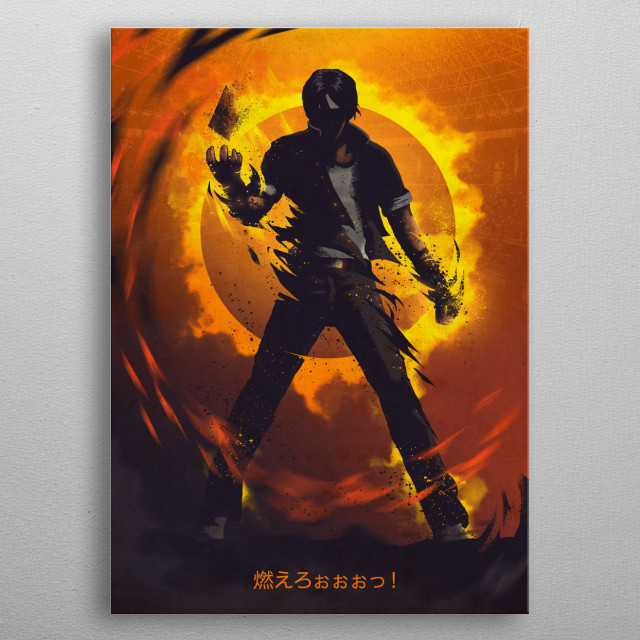 High-quality metal print from amazing Gaming Characters collection will bring unique style to your space and will show off your personality. metal poster