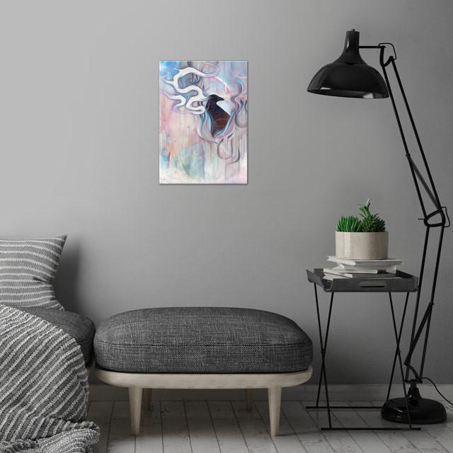 Sky Warden wall art is showcased in interior
