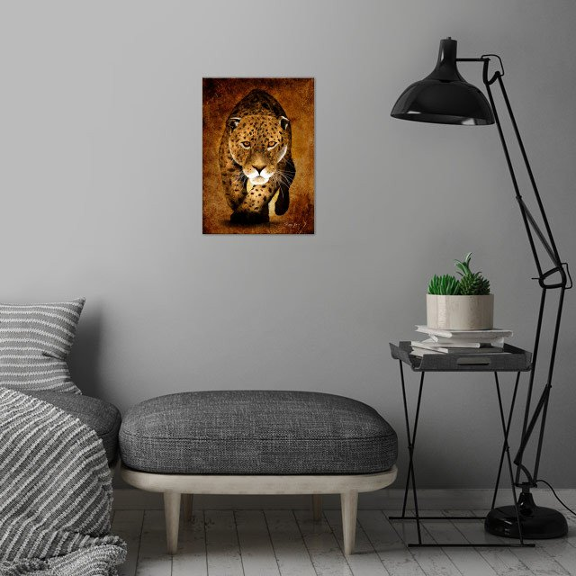 From sketches to digital painting, The Wild Collection.... wall art is showcased in interior