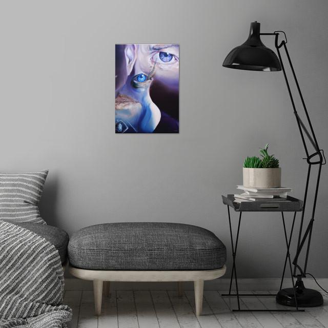 Alessandro Fantini, David Lynch Oil on canvas 50x70cm. ... wall art is showcased in interior