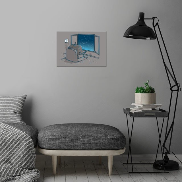 The best show wall art is showcased in interior