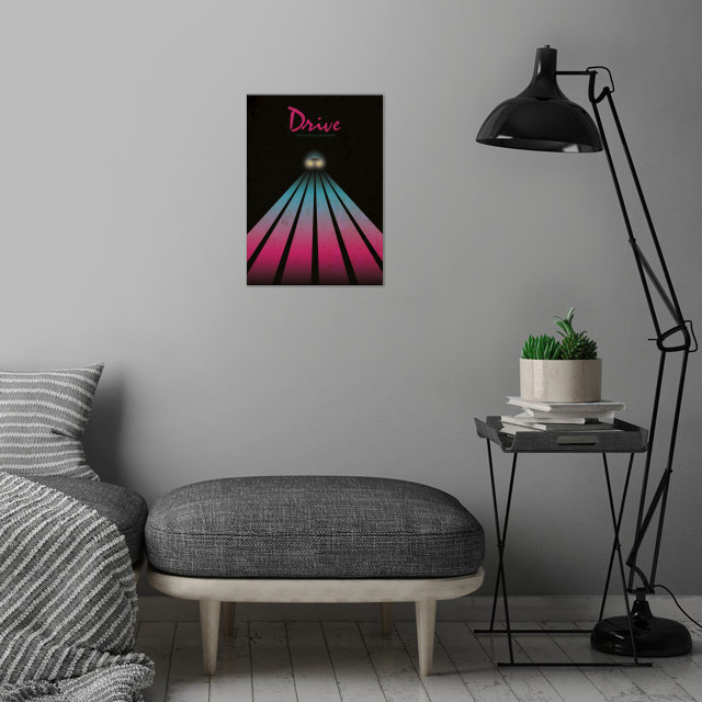 Drive wall art is showcased in interior