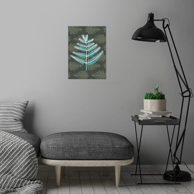 Datil wall art is showcased in interior