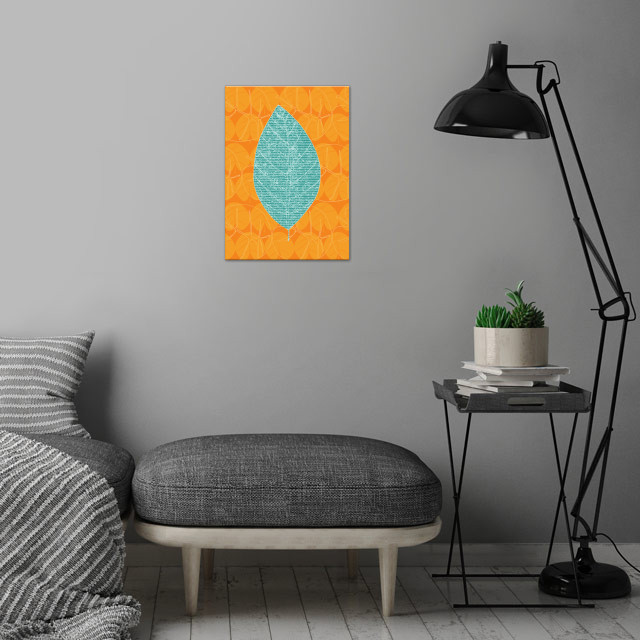 Limon wall art is showcased in interior