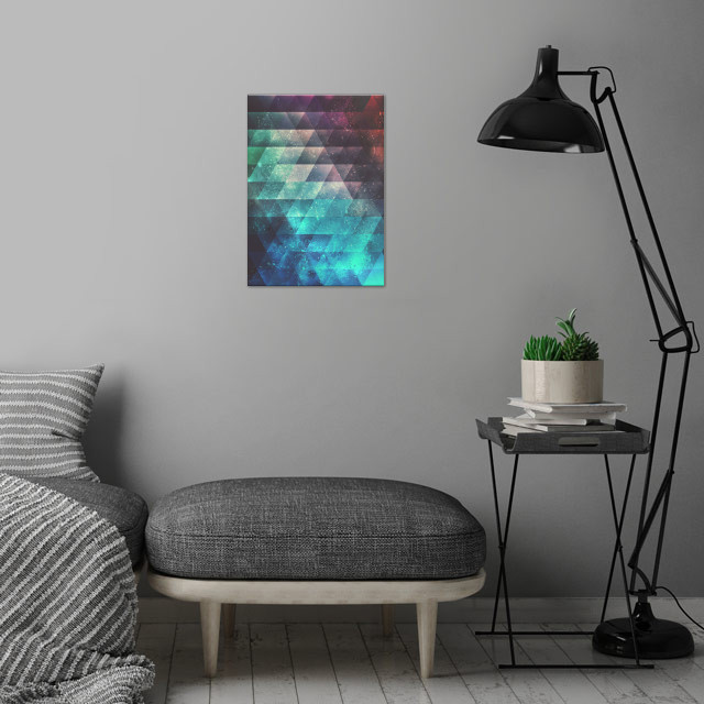 brynk drynk wall art is showcased in interior
