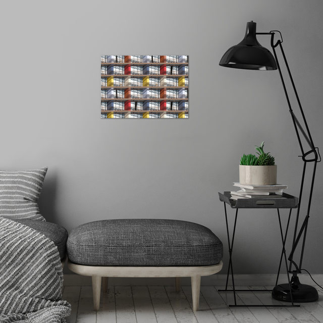 facade wall art is showcased in interior