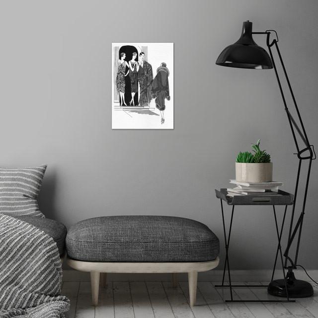 Jolies wall art is showcased in interior