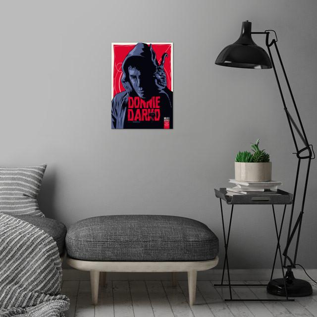Donnie Darko - Fictive Comic Cover wall art is showcased in interior