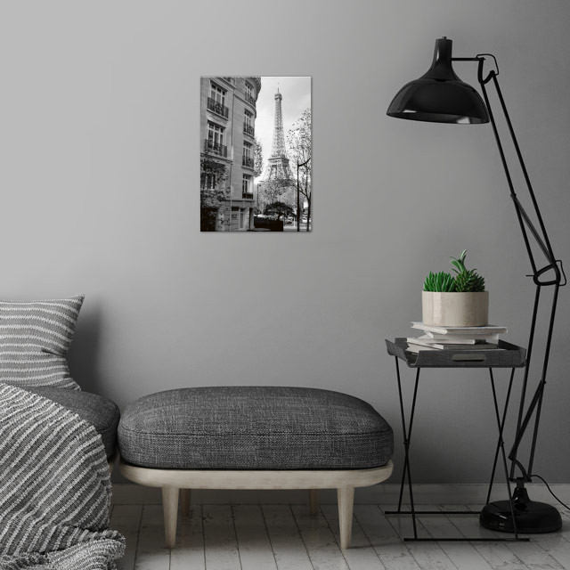 Paris NO1 wall art is showcased in interior