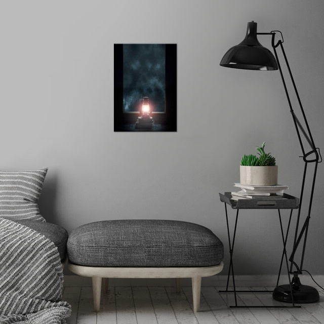 light of my life wall art is showcased in interior