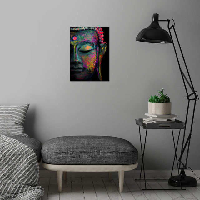 Inner Flame  ---The mind is everything. What you think ... wall art is showcased in interior