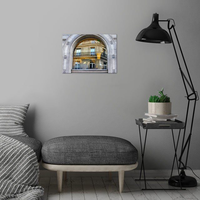 Window to your World wall art is showcased in interior