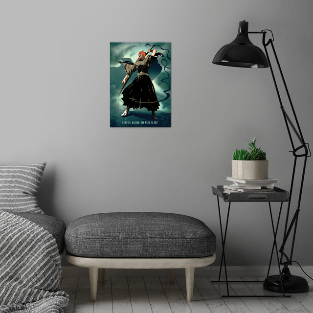 Spirit Warrior wall art is showcased in interior