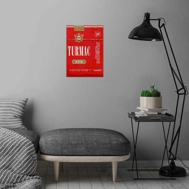 Turmac wall art is showcased in interior