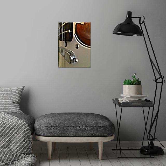 Neck and Shoulders wall art is showcased in interior