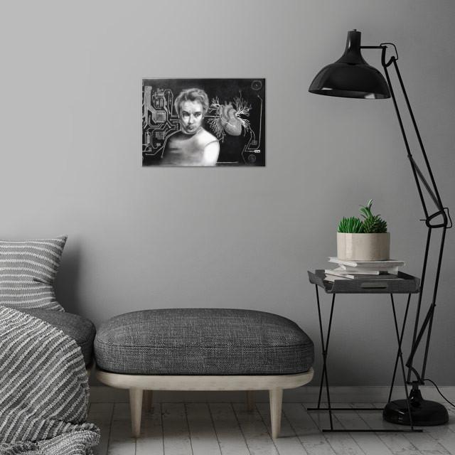 AFAN Alessandro Fantini - Soundiastole (Jean-Michel Jar... wall art is showcased in interior