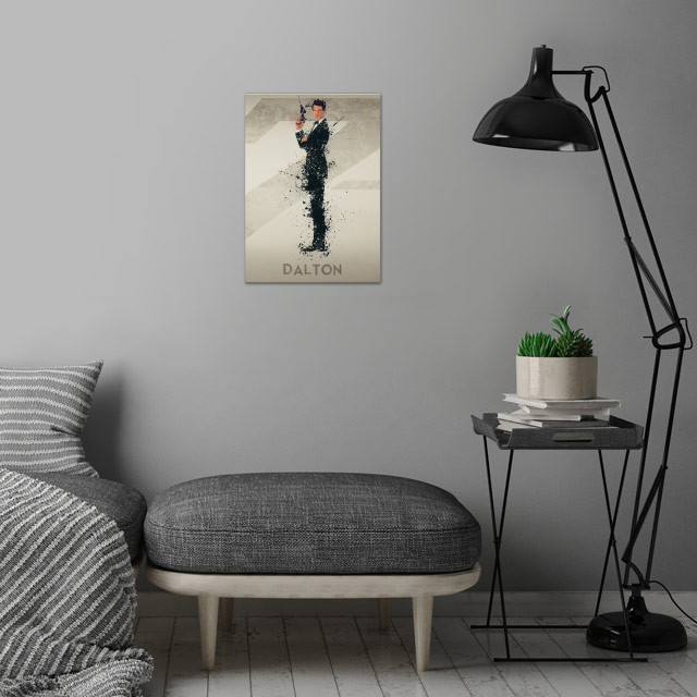 Dalton – Bond actor's series 4/6. A combination of ... wall art is showcased in interior