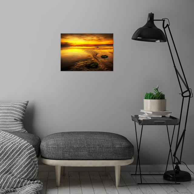 (North Yorkshire Coast) North Yorkshire is a non-metrop... wall art is showcased in interior