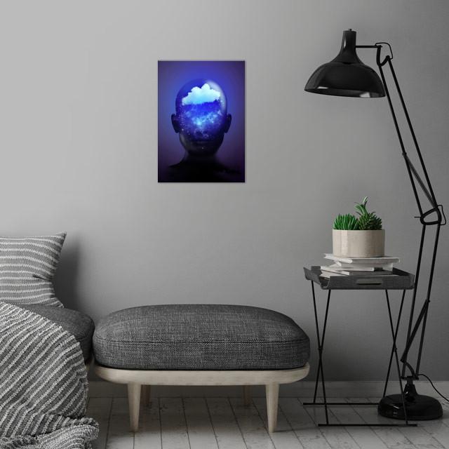 Somnium (Dreamer)  wall art is showcased in interior