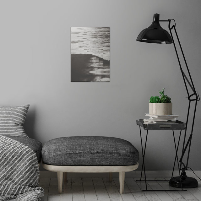 Fractions A04 wall art is showcased in interior
