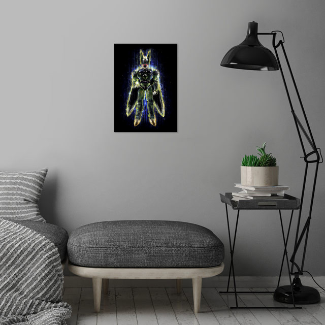 The Perfect Insect Android art by CoD Designs and myself. wall art is showcased in interior