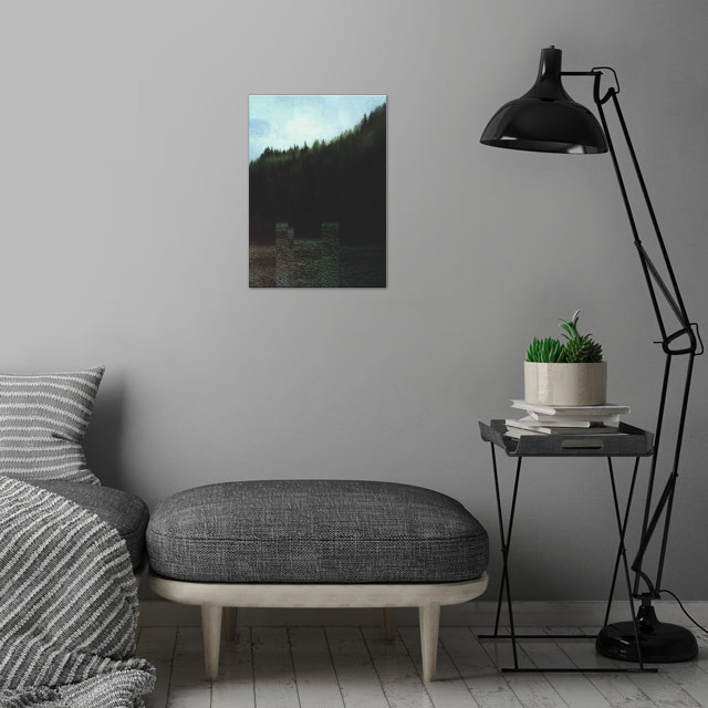 Fractions A14 wall art is showcased in interior
