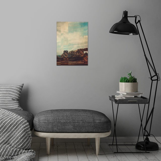 Fractions A15 wall art is showcased in interior
