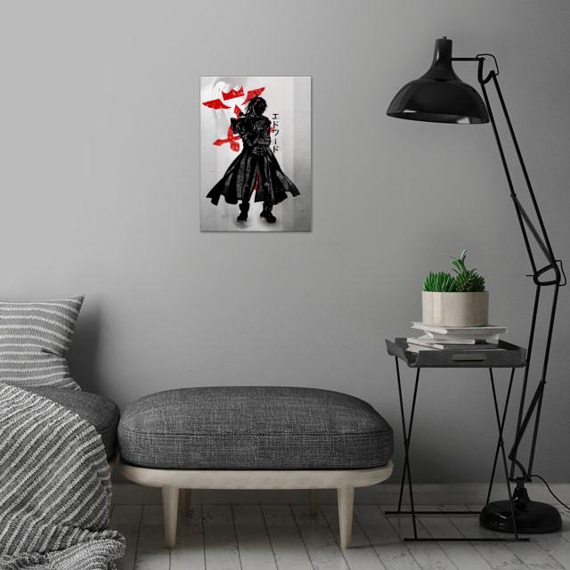 Edward | FMA wall art is showcased in interior