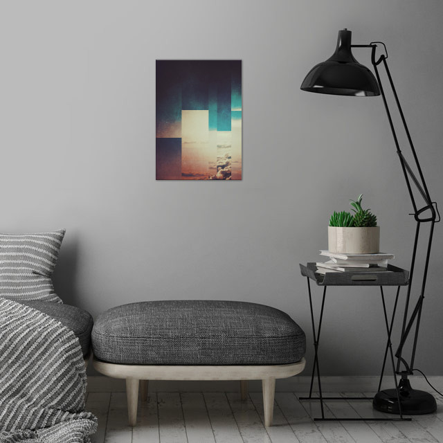Fractions A27 wall art is showcased in interior