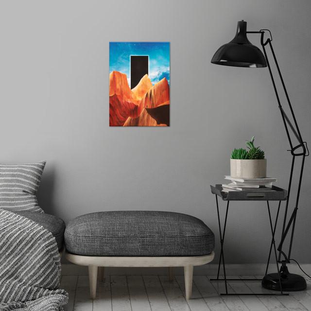 False Hope wall art is showcased in interior