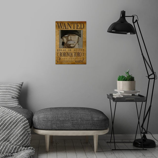 New bounty for the 3 swords swordman wall art is showcased in interior