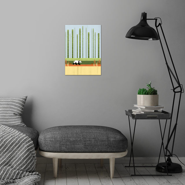 A lovely natural scenery in Asia :) wall art is showcased in interior