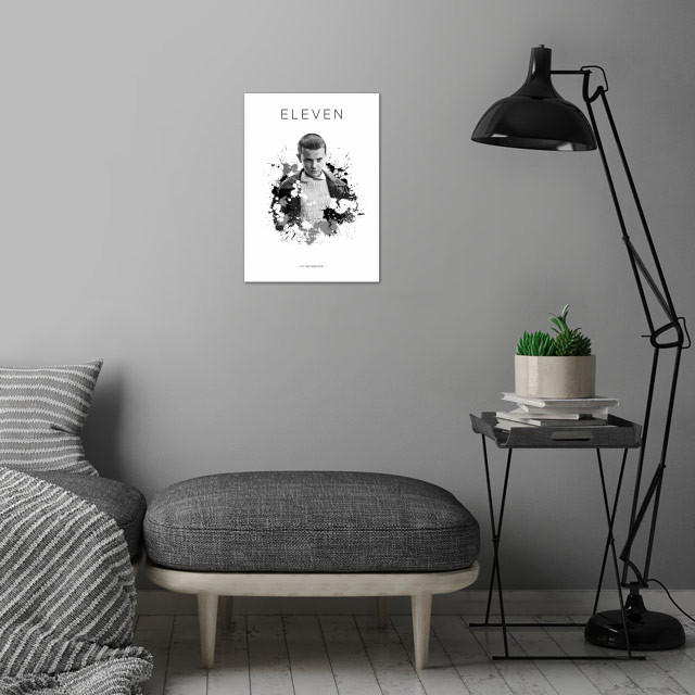 Jane 'Eleven' Ives wall art is showcased in interior