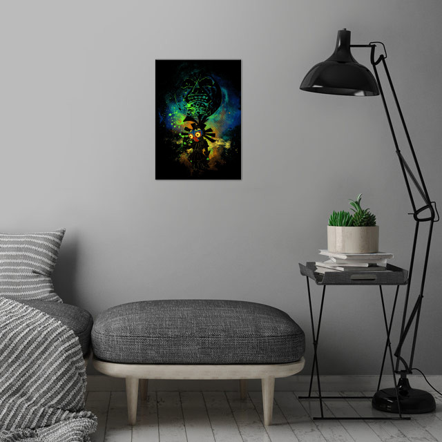 Majora's Art wall art is showcased in interior