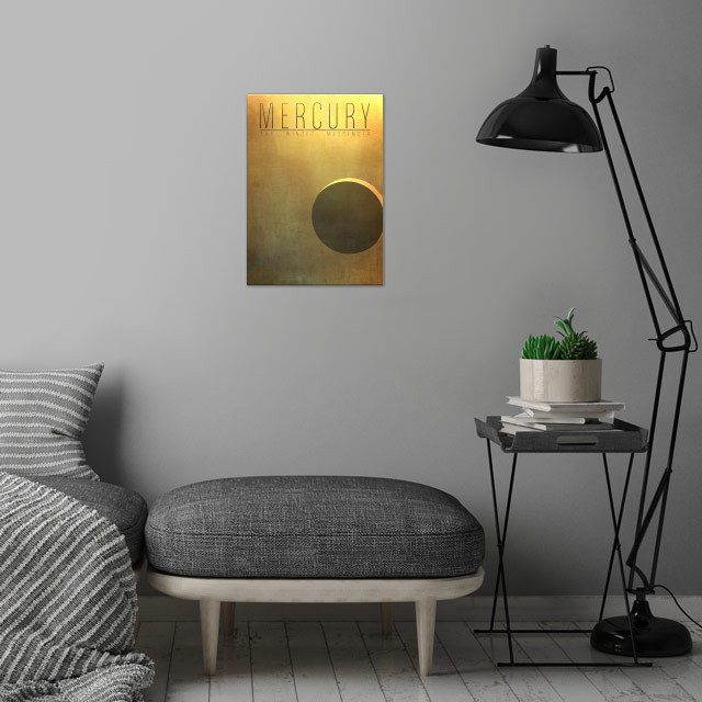 Mercury - The Winged Messenger 1/9 in the complete set ... wall art is showcased in interior
