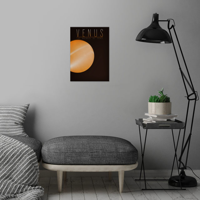 Venus - The Bringer of Peace 2/9 in the complete set of... wall art is showcased in interior