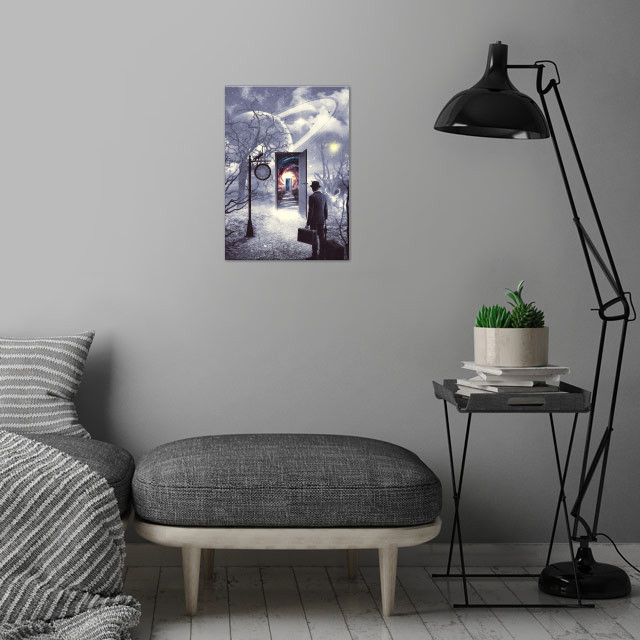 Road Less Travelled 2 wall art is showcased in interior