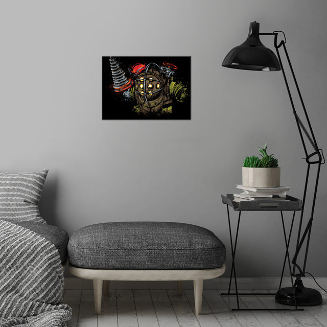 Big Daddy wall art is showcased in interior