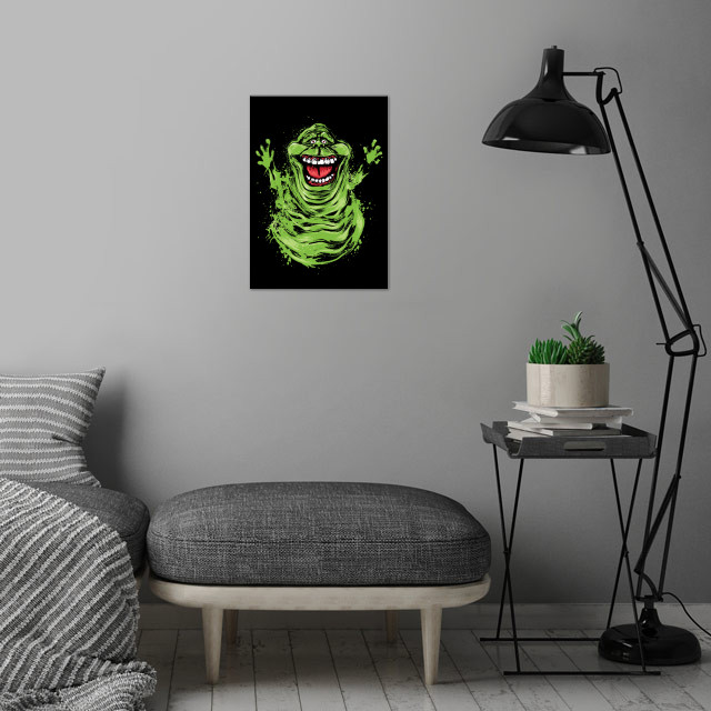 Pure Ectoplasm wall art is showcased in interior