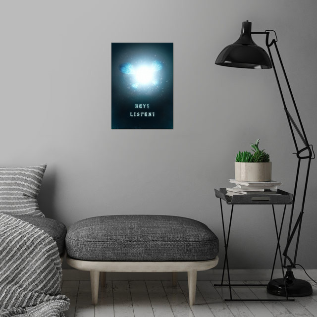 Navi · Made with Autodesk Maya and Photoshop wall art is showcased in interior