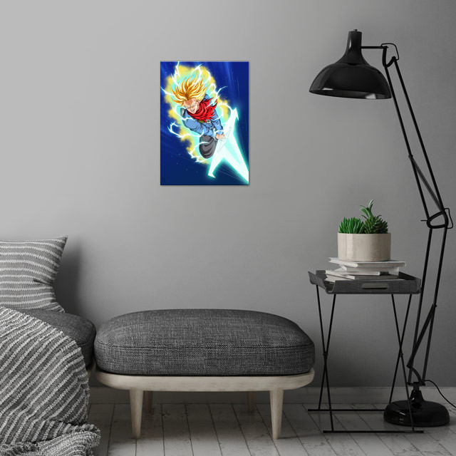 Trunks wall art is showcased in interior