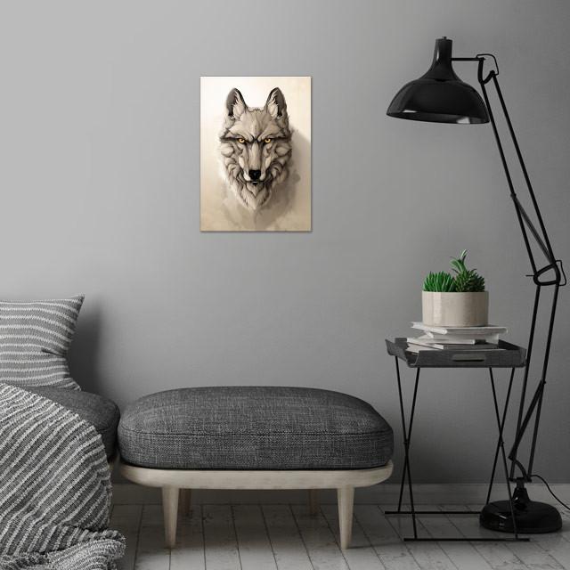 Wild Animals! wall art is showcased in interior