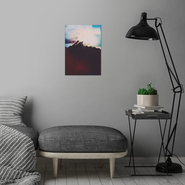 Fractions A83 wall art is showcased in interior
