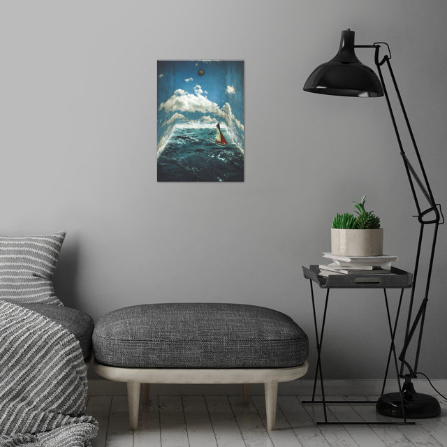The Earth Room wall art is showcased in interior