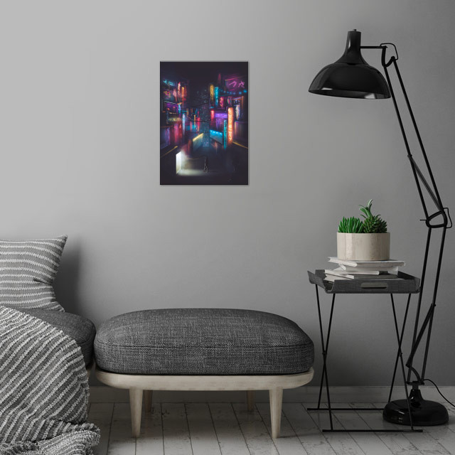 Memories We Have Always Chased wall art is showcased in interior